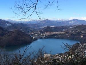 嵐山からの眺望