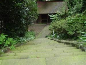 与瀬神社 階段